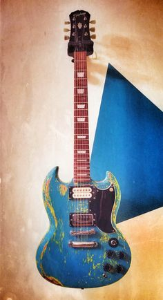 Custom Painted SG -