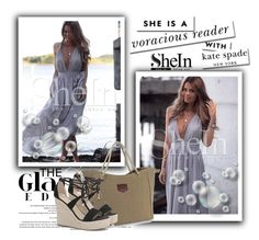 """SheIn 5 / VII"" by ozil1982 ❤ liked on Polyvore featuring Kate Spade"