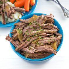 Crock Pot Shredded Beef made with Tri-tip Roast | Pick Fresh Foods