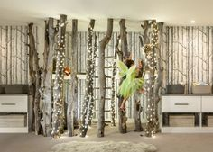 "This Beautiful ""Indoor Forest"" Playroom Transformation Will Knock Your Socks Off  - CountryLiving.com"
