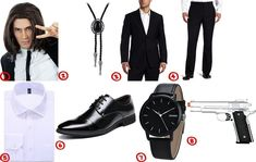 Vincent Vega Costume for Cosplay & Halloween 2020 Costume Guide for Vincent Vega from Pulp Fiction Pulp Fiction Halloween Costume, Movie Halloween Costumes, Halloween 2019, Diy Costumes, Halloween Ideas, Costume Ideas, Couples Fancy Dress, Cosplay, Old Hollywood
