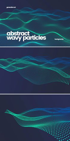 Wavy Particles Backgrounds - Pixel Dimensions: 5000x3333 - Resolution: 300 dpi Background Images Wallpapers, Backgrounds, Graphic Design, Templates, Abstract, Places, Background Pics, Models, Stenciling