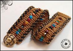 Antiqued Brass Channeled Bracelet.jpg
