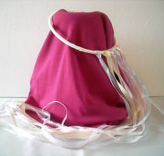 Finally!  A princess ribbon halo/crown that is sturdy, using swamp cooler tubing.