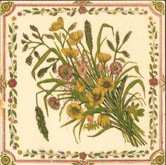 West Side Art Tiles - 4488n525p0 - English Tile