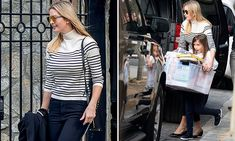 Ivanka looks chic while leaving Washington home with daughter Arabella