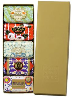 Gift soaps from Claus Porto