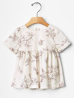 Floral bird top Product Image