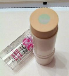 Hard Candy CC Color Correcting Tinited Moisturizer Stick $7 dupe for Tarte CC Colored Clay Correcting Primer $34.
