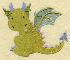 And this one @Shirley Sandridge - I like the chubby whimsical ones. Not scaly or looking too much like a dino