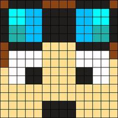 Dantdm Perler Bead Pattern / Bead Sprite
