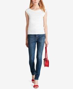 Polo Ralph Lauren Sleeveless Shirt - White XS