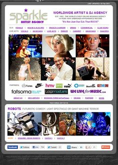 Sparkle Agency - Worldwide Artist and DJ Bookings - it's not just our DJs that ROCK!