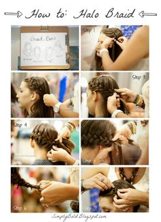 How to Halo Braid via Simply Bold