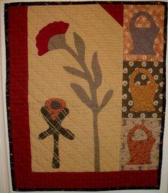 basket+&+flower+quilt.JPG 550×633 pixels