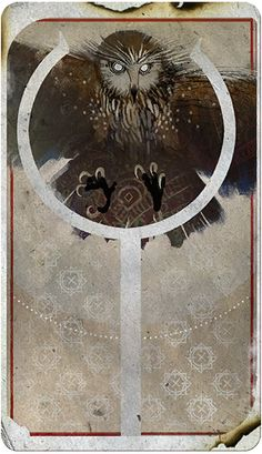 Trevelyan Mage, The Circle, Tarot Card, Dragon Age