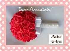 De tecido ou de Chocolate, use a criatividade! Veja no Guia Novas Noivas:http://bit.ly/1KqyLrl