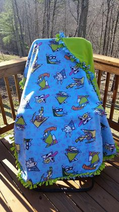 Rocko's modern life Blanket by BudzynBlankets on Etsy