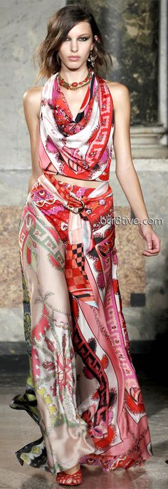 Emilio Pucci Spring Summer 2012 Ready to Wear
