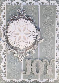 HSN October 5th, 2016 Sneak Peek 6   Anna's Blog - set of 12 Christmas Seasonal Folders - (6) 5 x 7 embossing folders & (6) accent borders