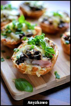 Quick casserole with mushrooms