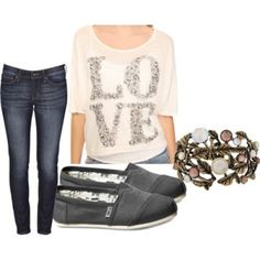 cute outfits with toms and bobs | Cute outfit! by Luv_fashion12