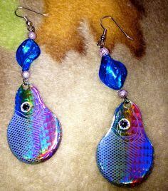 Country Girl Fishing Lure Earrings by FaMiLyMoTiVaTeD on Etsy