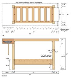 Free Workbench Plans – The $175 Homemade Workbench | DO IT: Projects, Plans and How-tos