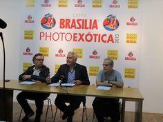 PHOTOEXÒTICA 2013 de Cafès BRASILIA: Roda de Premsa (8-11-2013)