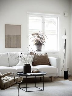 Today, we'll show you 20 beautiful Scandinavian living room designs to inspire a home decor makeover. Scandinavian Interior Design, Scandinavian Home, Home Interior Design, Interior Styling, Scandinavian Furniture, Living Room Interior, Living Room Decor, Dining Room, Home And Deco