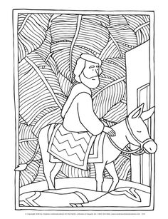 FREE activity sheets for kids feature Christ& entrance Bible Coloring Pages, Adult Coloring Pages, Coloring Books, Cool Art Drawings, Animal Drawings, Activity Sheets For Kids, Celebrity Drawings, Bible Activities, Palm Sunday