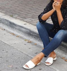 9e88e7daaef2 We love how  chicstylista styled our chic slide sandal.  Naturalizer Make  You Feel