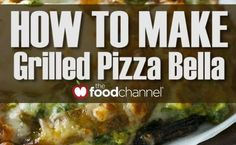 Quick Grilled Pizza Bella