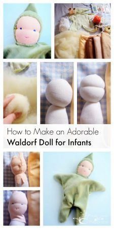Make a Waldorf Doll for Infants - Health, Home, & HappinessYou can find Waldorf dolls and more on our website.Make a Waldorf Doll for Infants - Health, Home, & Happiness Doll Patterns Free, Free Pattern, Diy Doll Pattern, Bear Patterns, Henna Patterns, Waldorf Crafts, Diy Waldorf Toys, Sock Toys, Doll Tutorial