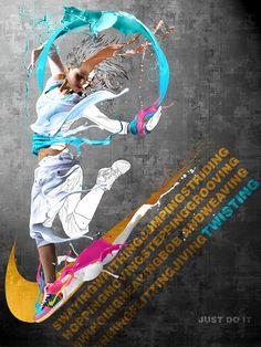 Nike Twist: Mock Ad by ~obsidian-chaos on deviantART
