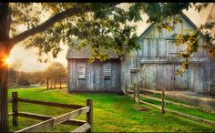 Old Country Barn...Looks like a place I would like to visit.
