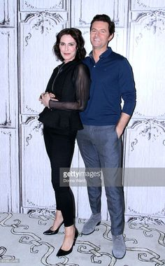 10-10-2016, promo Berlin Station by Richard Armitage and Michelle Forbes. Photo: Donna Ward