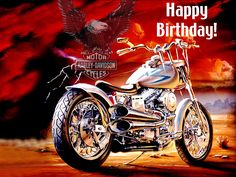 Happy Birthday Harley Davidson