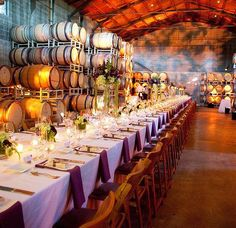 Wine not? A reception venue close to the source