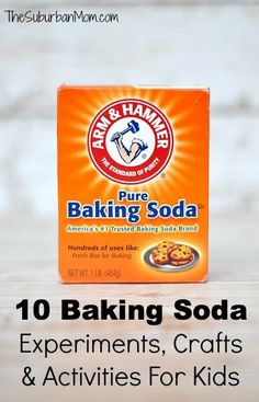 10 Baking Soda Experiments, Crafts And Activities For Kids