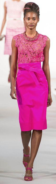 Oscar De La Renta Spring Summer Ready to Wear 2013