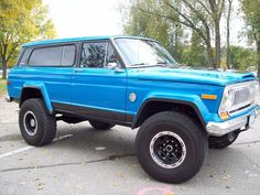 After several years of racing this Jeep has been a great pre-runner and scouting and camping vehicle. The Jeep runs and drives great (for a Jeep without sway bars). Jeep Wagoneer, Jeep Wj, Jeep Truck, Jeep Wrangler, Jeep Willys, Jeep Cherokee Sport, Cherokee Chief, Cherokee 4x4, Pickup Jeep