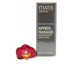 Matis Reponse Homme After Shave Alcohol-Free Soothing Balm 50ml - for all skin types! #Matis #homme #men #skincare #aftershave