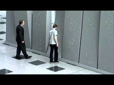Eye catcher outside element from my favourite design company. Festo - Interactive Wall - YouTube