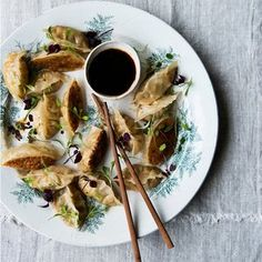 Anna Jones' peanut noodle bowls with squash dumplings