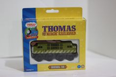 Thomas Wooden Railway DIESEL 10 Magic Railroad Box New NIB 2001 #LearningCurve