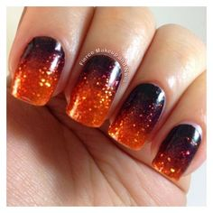 Facebook via Polyvore featuring nail art