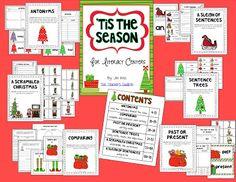 The Teachers' Cauldron: Christmas Visual Plans - week 1 and some freebies!