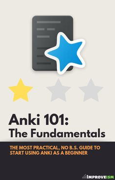 FREE Anki Fundamentals course for college students and lifelong learners
