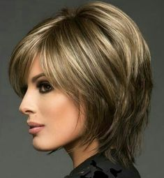 Frontal Hairstyles, Short Bob Hairstyles, Hairstyles With Bangs, Short Layered Haircuts, Haircuts For Long Hair, Short Hair With Layers, Short Hair Cuts, Medium Hair Styles, Short Hair Styles